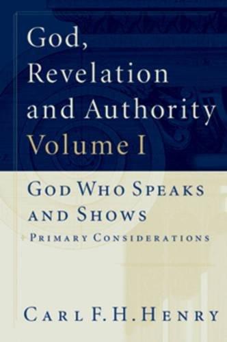 Image of God, Revelation and Authority (6 Volume Set)