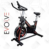 Reach Evolve Spin Bike | Exercise Fitness Cycle Spinning Bike (18 Kg Flywheel)