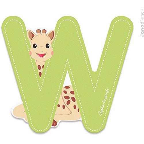 Lettre W Sophie la girafe - Janod
