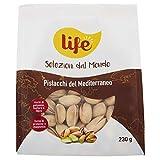 Life Pistacchio Tostato Salato Mediterraneo - 4 Confezioni da 230 g