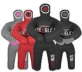 Deagle Eliminator 4 FT Kids MMA Wrestling BJJ Training Grappling Submission Dummy (Black, 4FT)