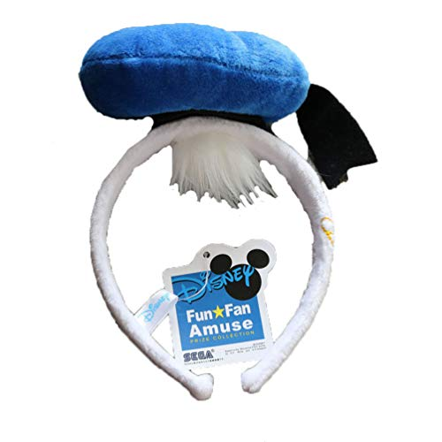 Donald Duck Character Headband with Hat Birthday Party Gift Cosplay Children One Size Kids Accessory Head Band Blue