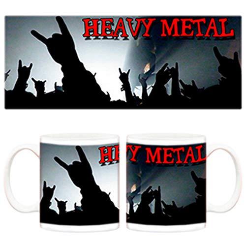 Diver Tazas Taza Heavy Metal Concierto - Cerámica