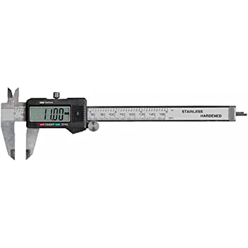 """Electronix Express 0604CAL6++ LCD Digital Caliper with Extra Battery and Case, 6"""""""