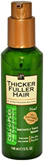 Thicker Fuller Hair Instantly Thick Thickening Serum, 5-Ounce (Pack of 2)