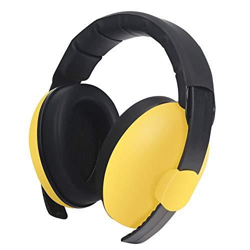MeterMall Baby Kids Anti Noise Oordopjes Headset Gehoorbescherming Oordverdedigers Slapende Hoofdtelefoon geel
