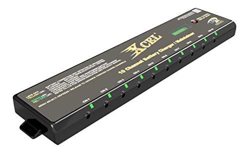 DPI XCEL Gen-V 10-Channel (Multi-Bank) Battery Charger/Maintainer