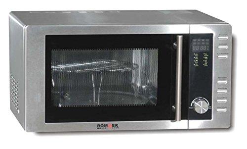 Rommer M 952 - Microondas sencillos, 1250 W, color gris