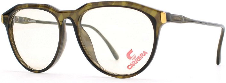 Carrera 5361 50 Brown and Green Authentic Men  Women Vintage Eyeglasses Frame
