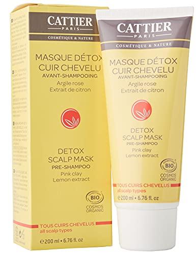 CATTIER Masque Capillaire Détox Avant-Shampooing 200 ml