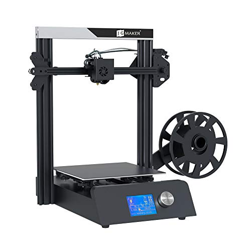 JGMAKER Magic Upgraded 3D Printer DIY Kits Fast Assemble Open Source with Metal Base Resume Printing Filament Sensor Function 220x220x250mm
