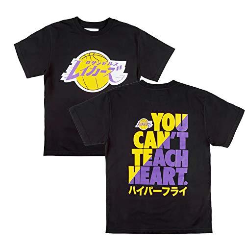 WQWY Hombre Lakers Camiseta Jerseys, 2021 City Edition Baloncesto Jugador de Baloncesto Camisetas Jerseys para Hombres Crew Cuello Cuello de Manga Corta Pantalla Gráficos M