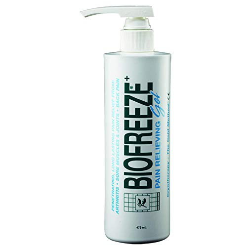 Biofreeze - Gel antiinflamatorio (473 ml)