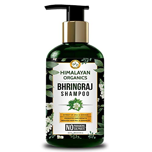 Himalayan Organics Bhringraj Shampoo for Hair Growth - 300ml (Pack of 1)