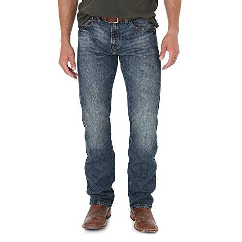 Wrangler Men's Retro Slim Straight Leg Jean, Dark Knight, 34W x 32L