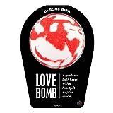Da Bomb Love Bath Bomb, Red/White