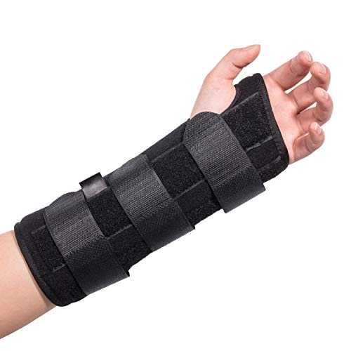Carpal Tunnel Wrist Brace, Kmeivol Wrist Brace, Adjustable Wrist Support with Spling for Men and Women, Wrist Splint for Right and Left Hands, Thumb Brace with Syndrome Pain Relief and Wrist Pain
