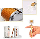 ZNXY Bayda Derma Roller Pure Microneedling para Cuidado de la Piel Mesoterapia,Reducir la Hiperpigmentación,Reducir Ojo Líneas Finas, Crecimiento del Cabello,0.25mm