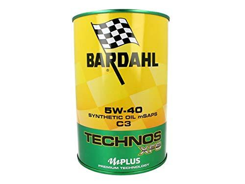 Bardahl 350040 TECHNOS XFS C3 5W40 Olio Motore Lubrificanti Auto 1 LT, MUTLICOLORE
