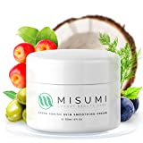 Misumi Skincare Crepey Skin Repair Treatment Cream - For Face, Neck, Arms & Legs - 4oz Tub - Erase...