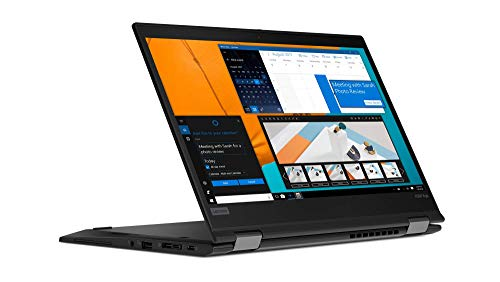 Lenovo ThinkPad X390 Yoga - Ordenador portátil convertible 13.3' FullHD (Intel Core i5-8265U, 8GB, 512GB SSD, Intel UHD Graphics, Windows 10 Pro), Color Negro - Teclado QWERTY español
