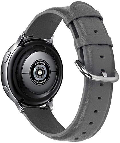 Classicase Compatible con Withings Steel HR Sport 40mm / Steel HR 40mm / ScanWatch 42mm Correa de Reloj De Cuero para Mujer (20mm, Pattern 5)