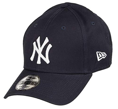 New Era New York Yankees 9forty Adjustable Cap MLB Rear Logo Navy/White - One-Size
