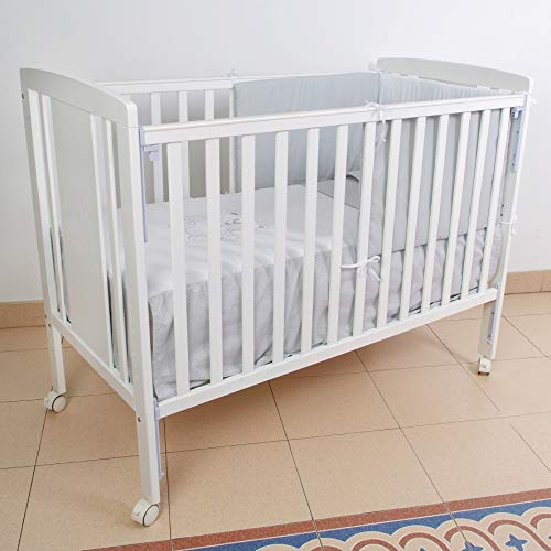 Cuna para bebé, modelo Oso Dormilón Mundi Bebé + KIT COLECHO