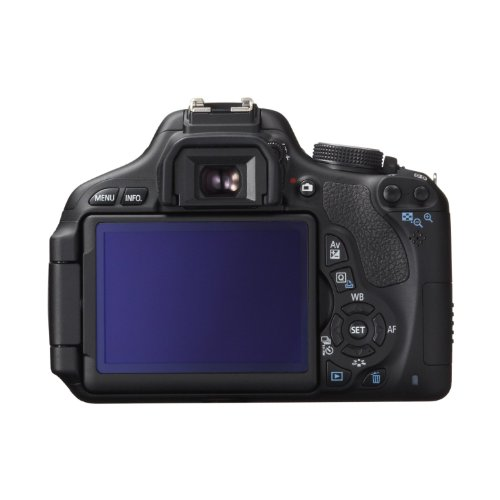 Canon EOS 600D SLR-Digitalkamera (18 MP, 7,6cm (3 Zoll) schwenkbares Display, Full HD, Double-Zoom-Kit inkl. EF-S 18-55 IS II + EF-S 55-250 IS)