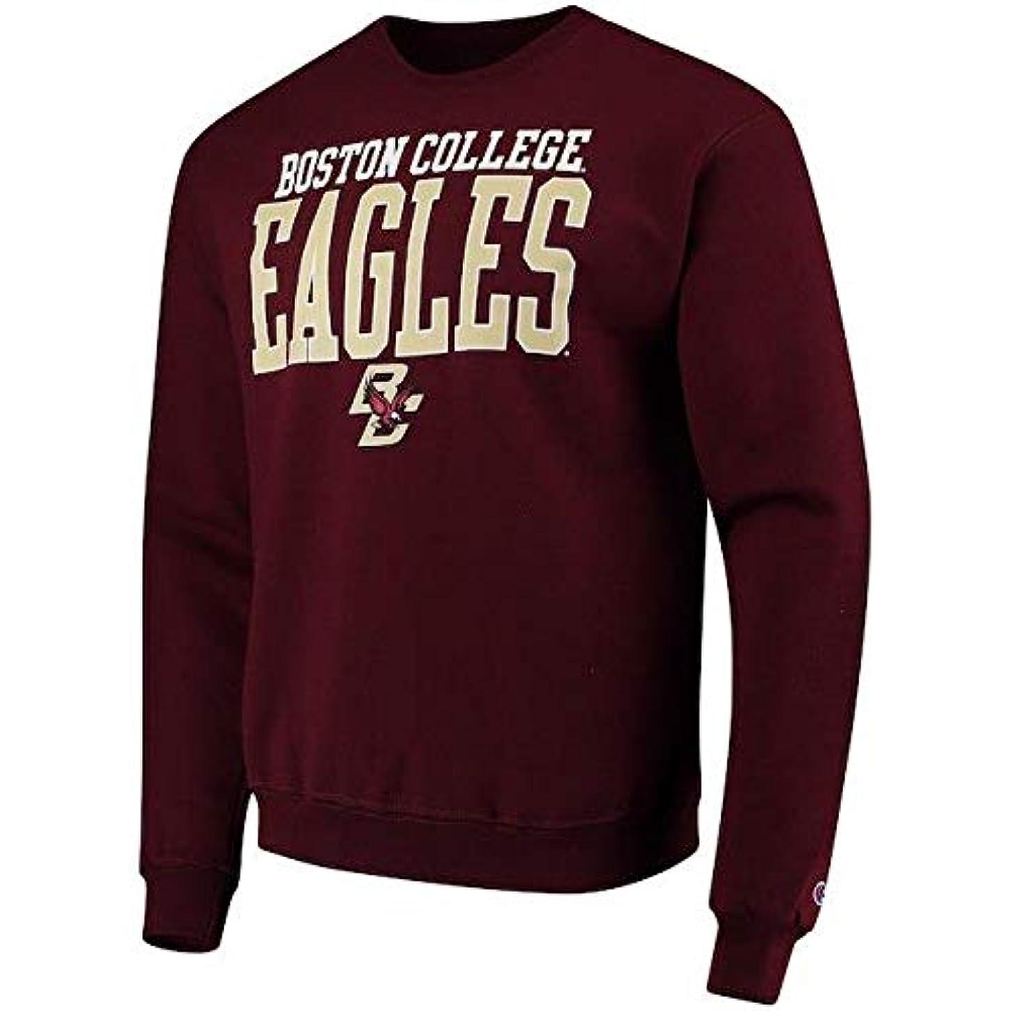 節約シングル喜びChampion Champion Boston College Eagles Maroon Eco Powerblend Expansion Pullover Sweatshirt スポーツ用品 【並行輸入品】