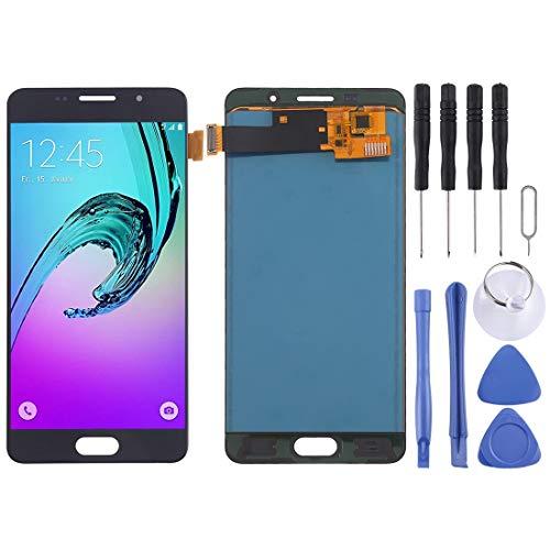 LIJUNGUO Pantalla LCD y ensamblaje Completo del digitalizador (Material TFT) For Galaxy A5 (2016) / A510 (Color : Black)