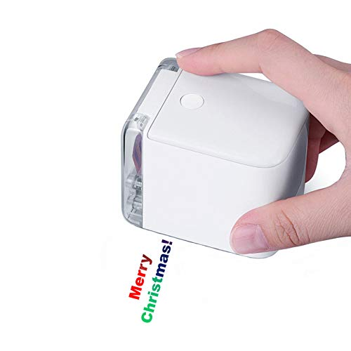 Handheld Color Printer,Portable Mini Printer, Mobile Inkjet Printer, Print On Any Materials with Ink Cartridge