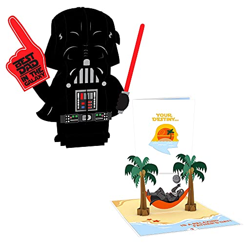 Lovepop Star Wars Darth Vader Pop-Up Gift, Father's Day Card, 1 3-D Pop Up Greeting Card, 1 Giant Pop-Up Gift, Gifts For Dad