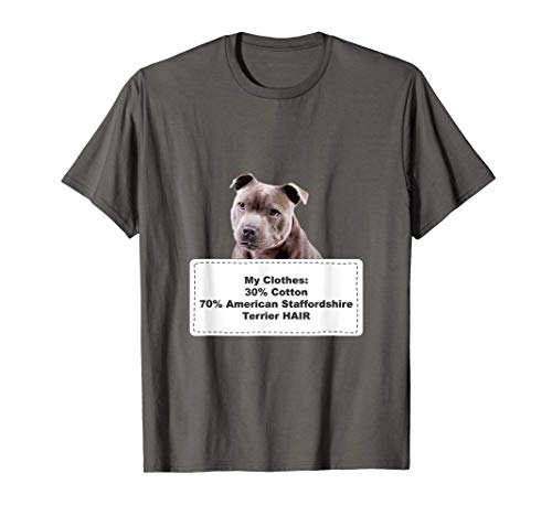 Funny Shedding Dog American Staffordshire Terrier Camiseta