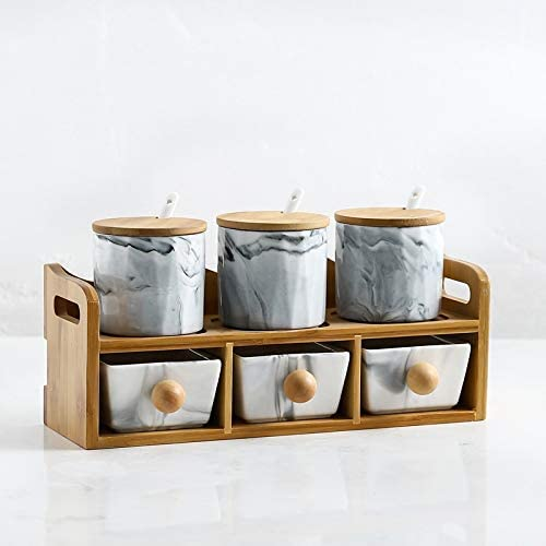 SHANG-JUNS Simple Simplicity Challenge the lowest price Style Department store Sugar Kitchen Bowl Set C Home
