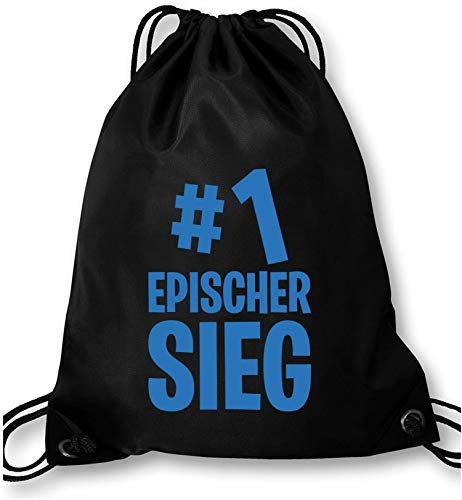 EZYshirt® #1 epischer Sieg Turnbeutel