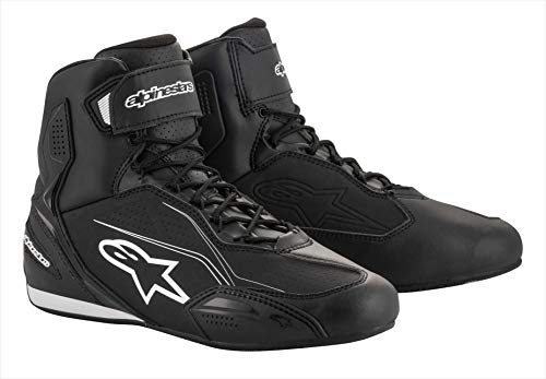 Alpinestars Motorradstiefel Faster-3 Shoes Black, 41