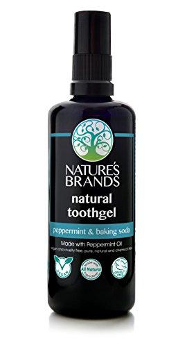 Herbal Choice Mari Natural Toothgel, Peppermint & Baking Soda; 3.4floz...