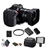 Canon Vixia HF G60 UHD 4K Camcorder (Black) (3670C002) with Padded Case, 64GB Memory Card and More - Base Bundle (Renewed)