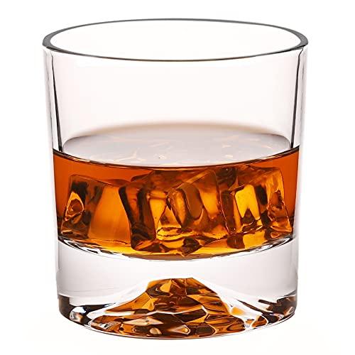 Whiskey-Gläser – Premium-Scotch-Gläser, 284 ml, 6 Stück