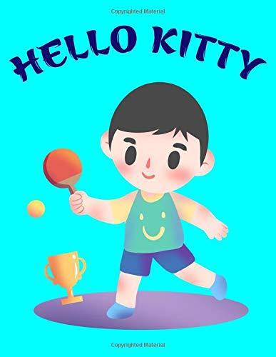 Hello Kitty: Sports Notebook, Tennis Player Gift, Tennis Coach Journal, Tennis Book for Girls, 8.5