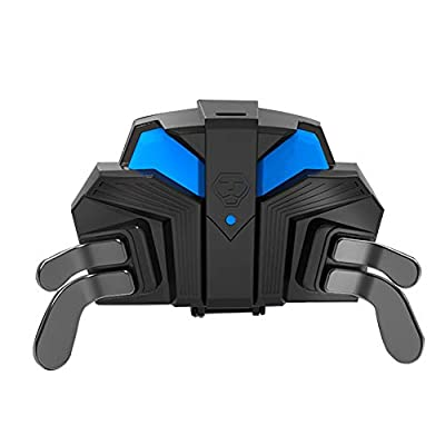 Back Button Attachment hion Durable Professional Portable Gaming 4 Paddles Accessories with Mapping Ergonomic Controller Adapter for PS4 Pro