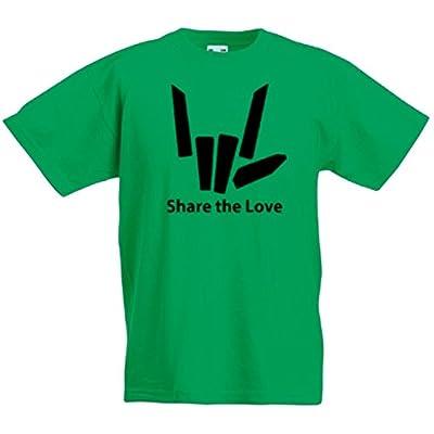 Women Mens Kids Pumukli Share The Love Black Logo T-Shirt Cotton,100/% Cotton