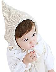 (プタス)Putars 子供用 帽子 ニット帽 女の子 男の子 耳あて付き 二色 耳保護 防寒 防風 暖かい 冬 可愛い 新生児 記念日 プレゼント