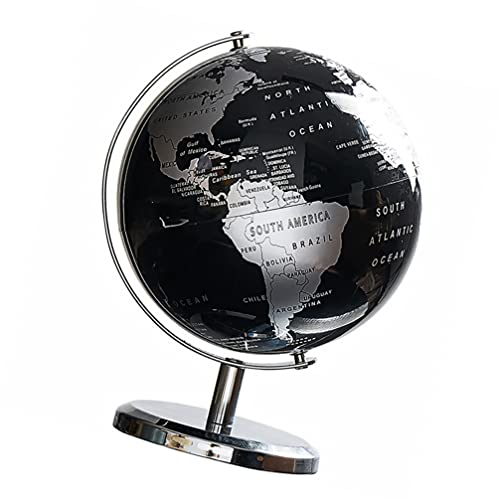 BESPORTBLE Globo Do Mundo Mapa Do Globo Com Base de Antique Vintage Decorativo Desktop Globo Geográfico Rotação Da Terra Bola Geografia Educação