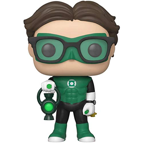 Funko Pop Television : The Big Bang Theory - Leonard as Green Lantern 3.75inch Vinyl Gift for TV Fans (Without Box) SuperCollection