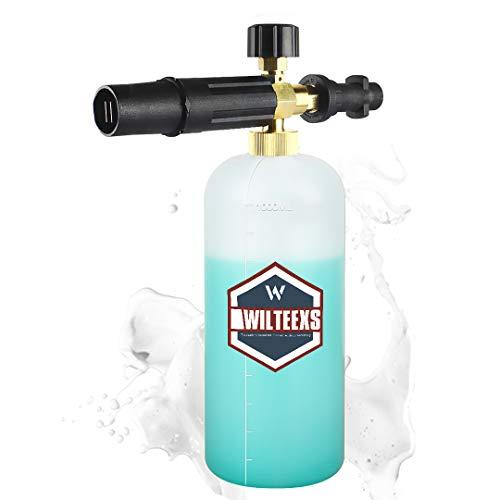 WILTEEXS ケルヒャー用フォームガン 泡洗車 Karcher K2~K7に対応 カーシャンプ 高発泡 高圧洗浄機 (プラス...