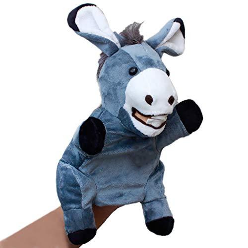 Marionetas animales Títeres de mano de animales de peluche de Juguetes para niños - narración de cuentos, enseñanza, juegos de rol, juegos interactivos, títeres de guante, regalos de cumpleaños y Navi