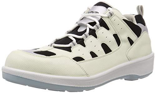 [シモン] プロスニーカー 短靴 8800 メンズ 白/黒 24.5