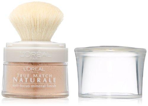 L'Oreal Paris True Match Naturale Soft-Focus Mineral Finish, Translucent, 0.15 Ounces